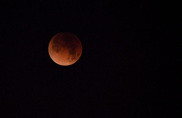 La Superluna azul de Sangre