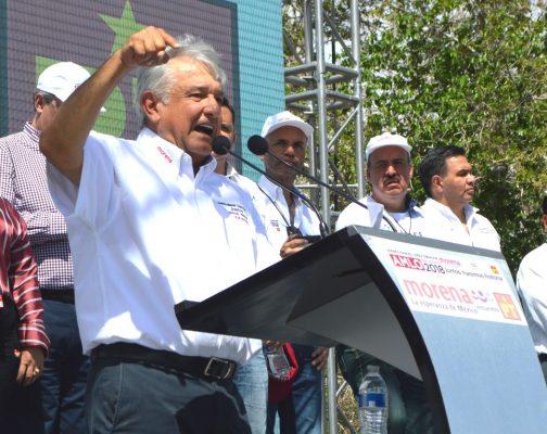 [GALERÍA] Inicia López Obrador su campaña en Ciudad Juárez