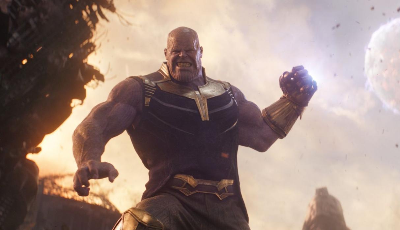 [FOTO]   Thanos es 'arrestado' por alterar el orden público