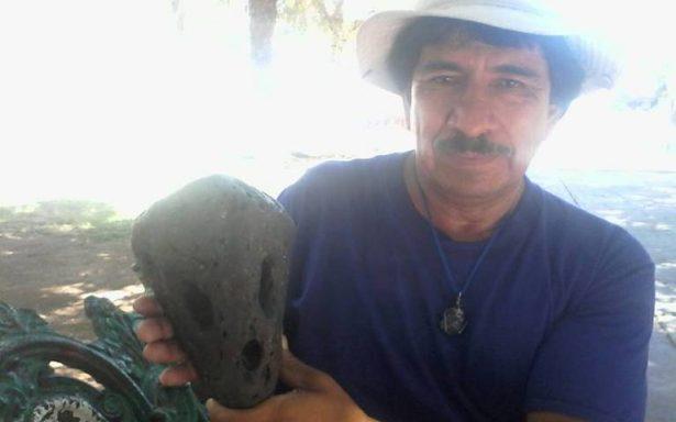 Asegura haber encontrado cráneo de extraterreste