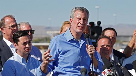 Habría cruzado de 'ilegal' alcalde de Nueva York por Tornillo