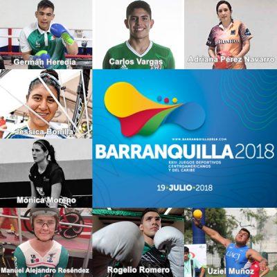 Van ocho juarenses a Juegos Centroamericanos y del Caribe