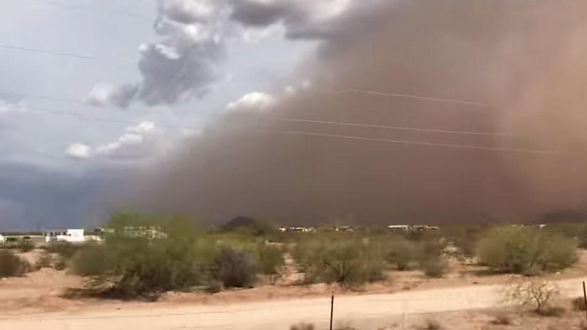 VIDEO   Tormenta de arena 'apocalíptica' azota el desierto en Arizona