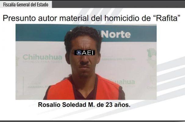 "Amenazan de muerte a presunto homicida de ""Rafita"""