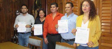 Rinden protesta cinco nuevos funcionarios