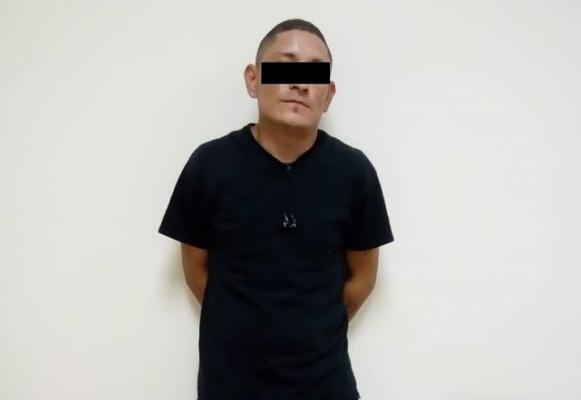 Sujeto es detenido por robar cobre de maquiladora