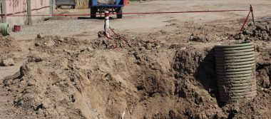 Reparación de drenaje colapsado será temporal