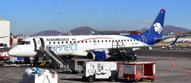 Aeroméxico suspenderá nueve rutas en 2019 por pérdidas económicas
