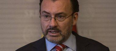 Luis Videgaray descarta que USMCA afecte relaciones comerciales con China