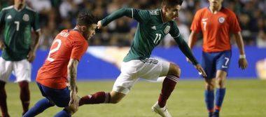 Chile aplica dolor en la herida; México pierde en partido amistoso