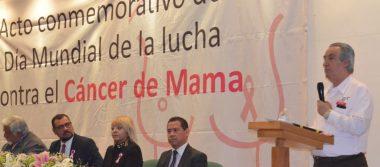 Conmemora IMSS el día mundial contra el cáncer de mama
