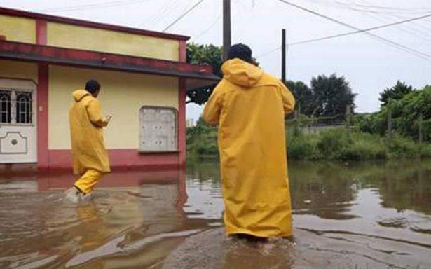 Chiapas en alerta amarilla por intensas lluvias