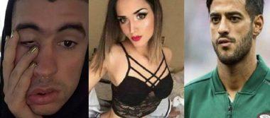 """""""Desaparece"""" la modelo transexual que coqueteaba con Carlos Vela y Bad Bunny"""