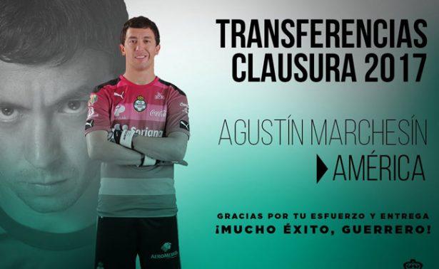 Futbol de estufa: ¡Agustín Marchesín llega al América!