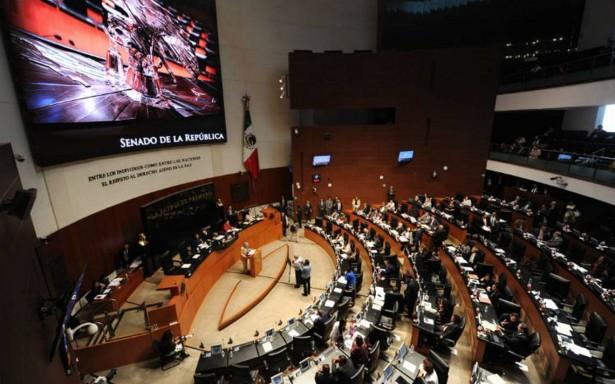 Morena plantea al Senado reforma legal para poner fin a desvíos en secretarías