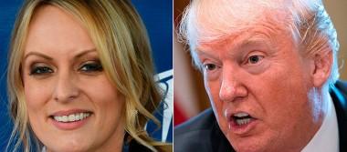 Estrella porno fue amenazada si hablaba de su relación con Trump: abogado