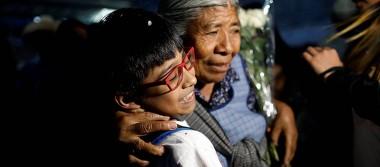 Sin sus padres migrantes, niños nacidos en EU visitan México para conocer a sus abuelos