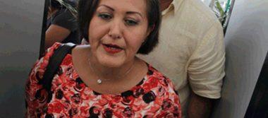 Eva Cadena comparece ante diputados en proceso de desafuero