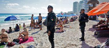 Llegan federales para reforzar vigilancia en Quintana Roo