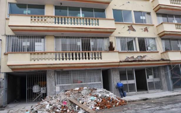 Registran más de 11 mil damnificados por sismo del 2017 en la CdMx