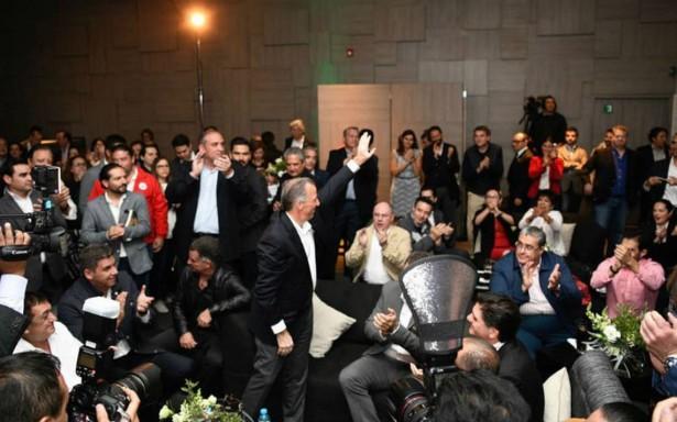Arturo Elías Ayub, yerno de Carlos Slim apoya candidatura de Meade