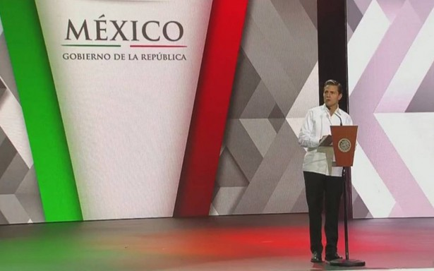 Peña Nieto inaugura Tianguis Turístico y llama a mantener firme el rumbo
