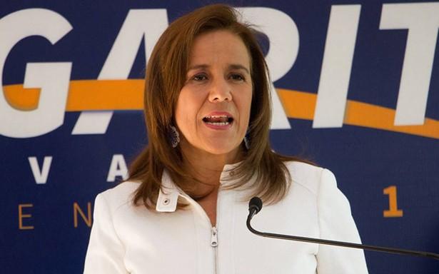 Margarita Zavala asegura que AMLO no es invencible