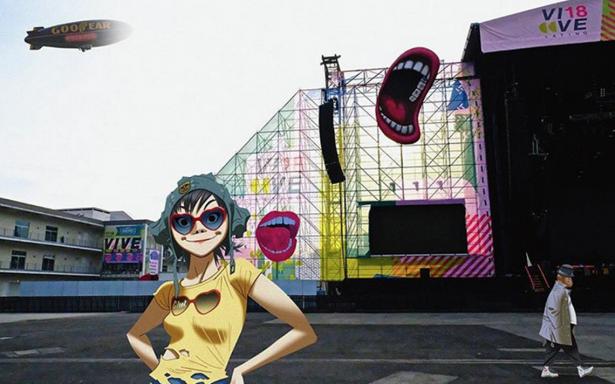[Video] Gorillaz hace soundcheck en el Vive Latino, ¿estás listo?