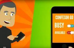 Aplicación móvil localiza a curas disponibles para confesión