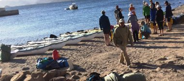 Loreto es uno de los mejores sitios para el kayaking