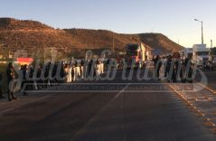 Terminan bloqueos en la ciudad de La Paz de manera pacífica