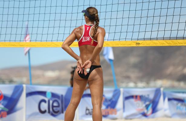 Arranca el torneo de voleibol de playa en La Paz