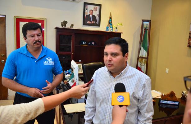 Francisco García Valdez, delegado municipal, comentó que el puerto está listo para recibir a más de 500 personas, tanto deportistas, entrenadores y familiares. / El Sudcaliforniano