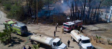 Sofocan oportunamente incendio en Puerto Los Cabos