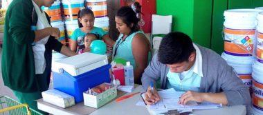 Inicia campaña nacional de vacunación contra la poliomielitis