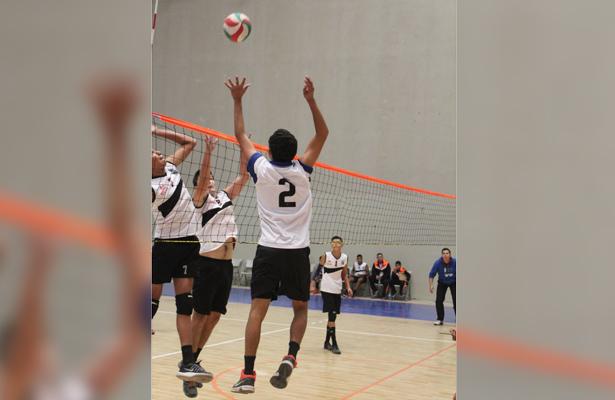 """En la cancha """"Manuel Gómez Jiménez"""", se vivirán las emociones del Estatal de Voleibol Sub-23. / El Sudcaliforniano"""