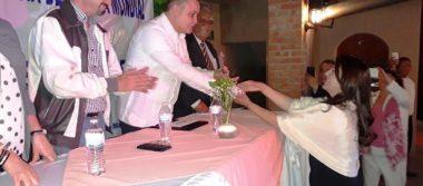 Alcaldesa de Loreto, recibe reconocimiento por su aporte a BCS