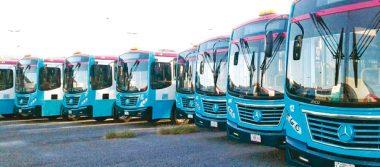 Renueva Transporte Urbano de La Paz su flota con 30 autobuses nuevos