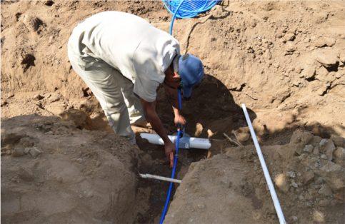 LLegará agua potable a 3 barrios de El Pescadero