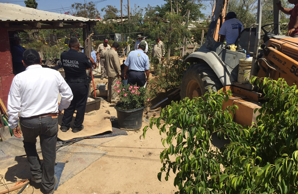 Realiza OOMSAPAS Los Cabos, operativo contra tomas clandestinas de agua