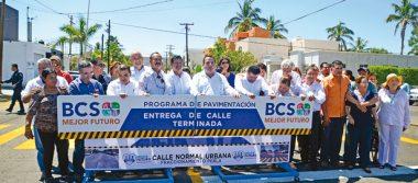 Entregan obras por 32.4 mdp en La Paz