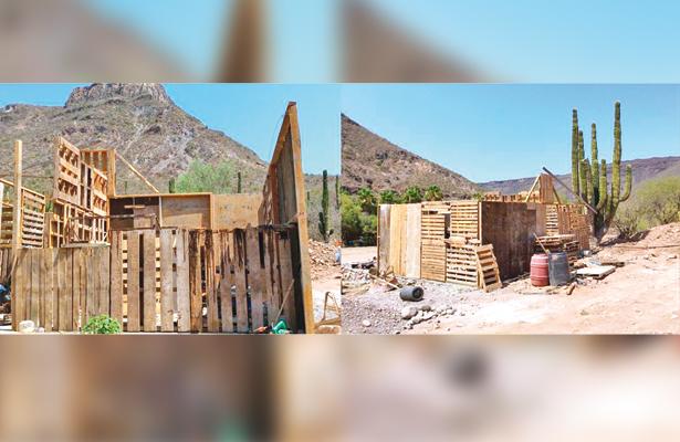 Construyen vivienda ecológica en la comunidad de San Javier
