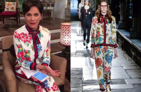 También Inés Gómez Mont tiene atuendo Gucci de Chapoy