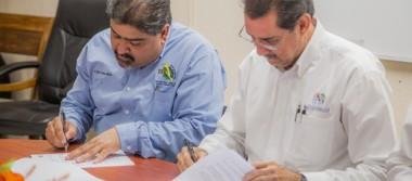 Firman convenio de colaboración  la Secretaría de Desarrollo y el ITSCC