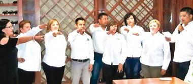 Blanca Meza Torres es nueva  lideresa del PVEM en La Paz