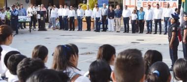 Reconoce comunidad estudiantil programa Alcalde en tu escuela
