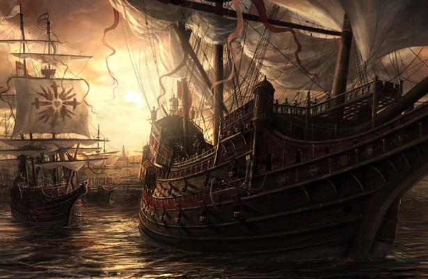 Cromwell y otros piratas que invadieron tierras californianas
