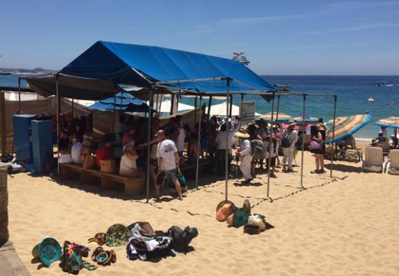 Reubican el ambulantaje que hay en la zona de playa en los for En zacatecas hay playa