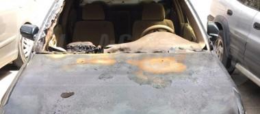 Cinco autos son incendiados en Los Cabos