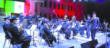 Hoy, concierto de la Banda de Música de la II Región Militar